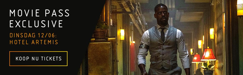 Afbeeldingsresultaat voor Moviepass Exclusive: Hotel Artemis