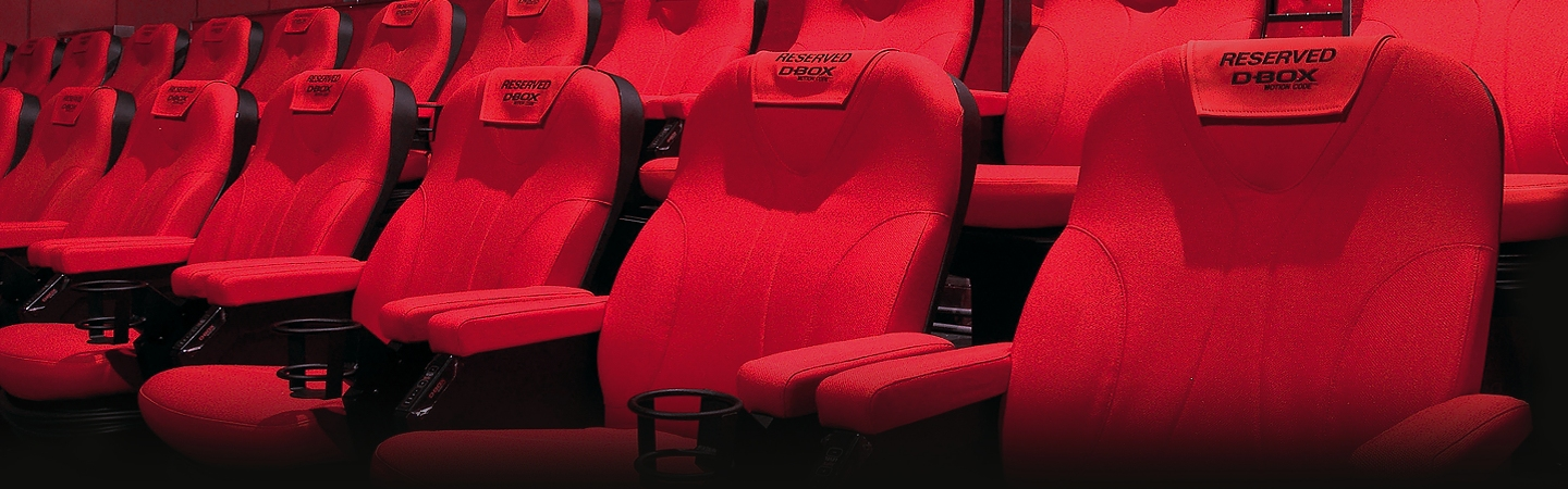 D-box seating bij Vue Cinemas